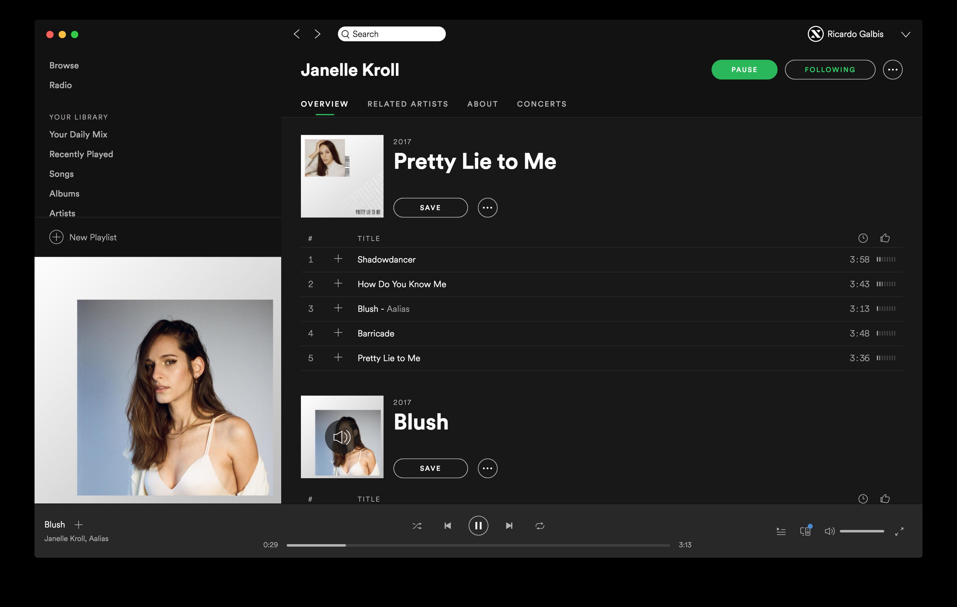Janelle Kroll on Spotify